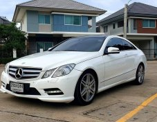 2012 Mercedes-Benz E250 AMG Dynamic coupe ฟรีดาวน์!!