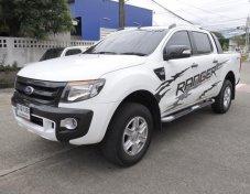 Ford Ranger 2.2 Hi-Rider wildtrak4 ประตู ปี 2014 สีขาว เกียร์ MT