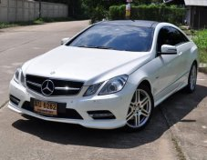 Benz E200 AMG COUPE 7G Daylight ตรง ปี 2012