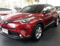 ขายรถ TOYOTA C-HR 1.8HV HI ตัวท็อปสุด ปี 2018 สีแดง