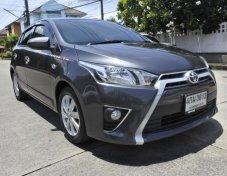 Toyota Yaris 1.2 E ปี 2015 สีเทาดำ เกียร์ AT