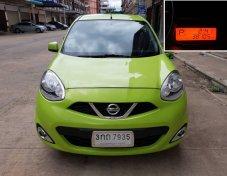 ขายรถเก๋ง NISSAN MARCH 1.2EL เกียร์AUTO ปี 2014