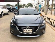 Mazda3  รุ่น2.0 S ปี2015  รถบ้าน มือเดียว ไม่มีชน ใช้น้อย70,000กม.แท้