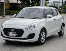 SUZUKI SWIFT 2018 (โฉม18-23) GA Hatchback 1.2 A/T สีขาว