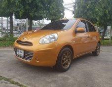 ขายรถเก๋ง Nissan March 1.2 auto (top) 2011