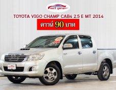 TOYOTA VIGO CHAMP CAB4 2.5E MT 2014
