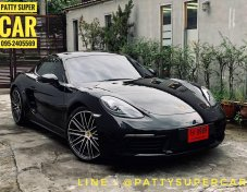 2017 Porsche 718 2.0 Cayman convertible