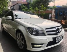 Mercedes Benz C180 Coupe ปี 2012