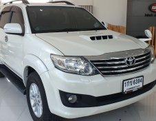 2012 Toyota Fortuner 3.0 V 4WD suv ดาวน์ 0%