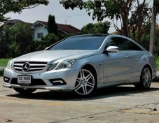 2010 Mercedes-Benz E250 AMG Avantgarde coupe