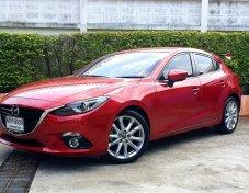 2017 Mazda 3 2.0 S hatchback สภาพนางฟ้า ไม่เคยชน น็อตไม่เคยขยับ สวยกริ๊บ วิ่งน้อย  สภาพเครื่อง /เกียร์ / ช่วงล่าง ดีเยี่ยม การันตี✔✔