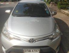 Toyota Vios 1.5E สีเงิน ปี2013
