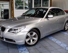 2005 BMW 525 iSE แท้  E60  พวงมาลัย3ก้าน รองน่องปรับไฟฟ้า   รถสวยมือเดียวออกห้าง