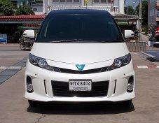 Toyota Estima Hybrid 2.4 Aeras ปี13 รถบ้านมือเดียวสภาพสวยขับดีไม่มีอุบัติเหตุออฟชั่นเต็ม