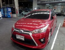 ขายรถ TOYOTA YARIS 1.2G ปี 2015 สีแดง