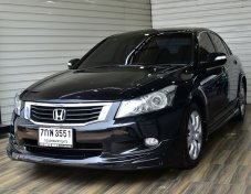 Honda Accord 2.0 E i-VTEC Sedan AT ปี2008 สีดำ รถสวย  ฟรีดาวน์ พร้อมใช้งาน