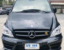Benz Vito 115CDI ตัวยาว แต่ง VIP เกียร์ออโต้ รถนักการเมือง เข้าศูนย์ตลอด วิ่งน้อย