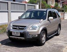 Honda Crv 2.0 E ปี03 รหัส588 รถบ้านมือเดียวสวยไม่แก็สตัวรถไม่มีอุบัติเหตุไมล์แท้ใครหาไม่ผิดหวัง