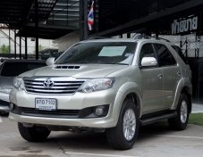 Toyota Fortuner 2.5 G ปี2013 รถเป็นมือแรก ออกป้ายแดงมา สามารถจัดไฟแนนซ์ได้เต็ม ไม่มีค่าใ้ช้จ่ายอื่นๆ
