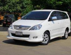 2011 Toyota Innova 2.0 G ออกรถ 5000 บาท ฟรีดาวน์ ฟรีประกัน ไม่ต้องใช้คนค้ำ