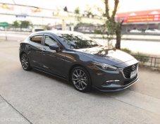 Mazda 3 รุ่น2.0S ปี2018 ไมเนอร์เช้นจ์แล้ว  G- vectoring มือเดียวไม่เคยชน
