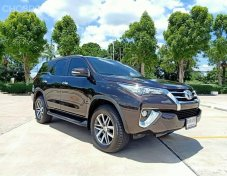 TOYOTA FORTUNER 2.8V (2WD) AT 2017 สีน้ำตาล