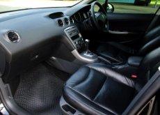 Peugeot 408 เครื่อง 2000cc สีดำ ปี 2013 ไมล์ 45,xxx ไม่เคยติดแก๊ส