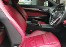 Mercedes-benz E200 AMG cabriolet blueeficiency w207 Sport Coupe ปี 2015 จด 18