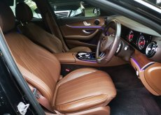 2017 Mercedes-Benz E200D sedan รถศูนย์ Benz Thailand มือเดียวป้ายแดง