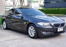 2012 BMW Series5 520d F10 ดีเซล สีเทาดำ ศูนย์ BMW THAILAND ฟรีดาวน์