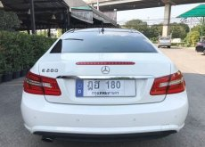 Benz E200 coupe AMG package ปี 12