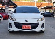 🎉🚘MAZDA.3 Spirit Sport Plus 1.6 Hatchback เกียร์อัตโนมัติ ปี2014 สีขาว