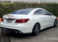 BENZ E200 COUPE ปี 2014 หลังคาแก้ว