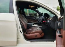 2014 BENZ E300 Diesel Bluetec Hybrid หรู แรง ประหยัด WARRANTY ศูนย์ 1 ปี Free ค่าแรงและอะไหล่