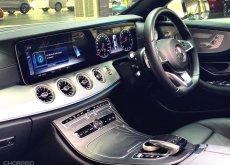 2017 BENZ E300 Coupe AMG หลังคาแก้ว Warranty ถึงปี2022