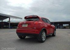 NISSAN JUKE 1.6 V 2014 เกียร์ออโต้ สีแดงรถสวย ไม่เคยชน มือเดียว รุ่นท้อปสุด