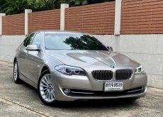 BMW 528i F10 2.0 TwinPower Turbo ปี 2013 หรูหราระดับผู้บริหาร มือเดียวตั้งแต่ป้ายแดง เลขไมล์เพียง76,000km.