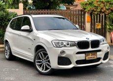 BMW X3 xDrive20d Lci M-Sport (F25) ดีเซลล้วน ปี 2017 แท้