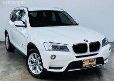 BMW X3 2.0d HIGHLINE สีขาว ปี2012 จด2013