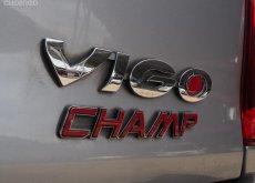 2015 Vigo 2.5 CAB ตัวสูง G AT เทา