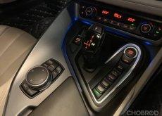 2015 BMW i8 สีเงิน (wrap เทาด้านและ wrap ล้อสีฟ้า)