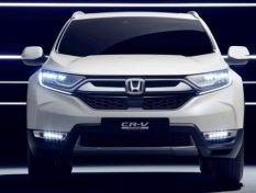 Honda CR-V Hybrid 2018 เตรียมเปิดตัวในงานเจนีวา