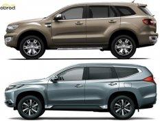 Ford Everest กับ Mitsubishi Pajero Sport ซื้อคันไหนดี