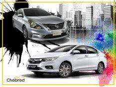 เปรียบเทียบ Nissan Almera กับ Honda City ซื้อคันไหนดี ?