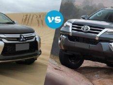 Toyota Fortuner  vs Mitsubishi Pajero Sport ซื้อรุ่นไหนดี?