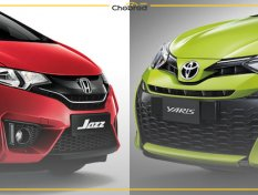 Honda Jazz กับ Toyota Yaris ซื้อคันไหนดีกว่ากัน ?