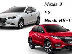 Mazda3 2018 กับ Honda HR-V 2018 เลือกซื้อคันไหนดี ??!