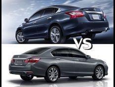 Honda Accord 2018 vs Nissan Teana 2018 เลือกซื้อคันไหนดี