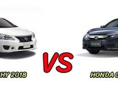 เปรียบเทียบ Nissan Sylphy 2018 vs Honda civic 2018