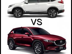 Mazda CX-5 2018 vs Honda CR-V 2018 เลือกคันไหนดีกว่ากัน !!